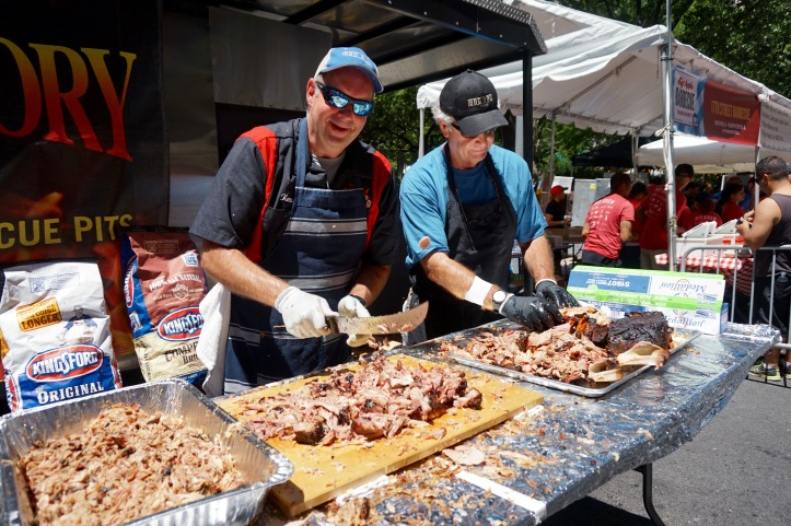 barbecue big apple bbq block party Big Bob Gibson Bar-B-Que madison ...